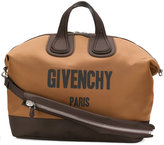Givenchy logo patch weekend tote