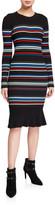 Parker Bruna Knit Striped Dress