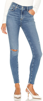 A Gold E Agolde AGOLDE Sophie Ankle Skinny. - size 24 (also