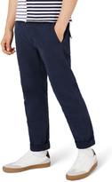 Topman Standard Fit Panel Twill Trousers