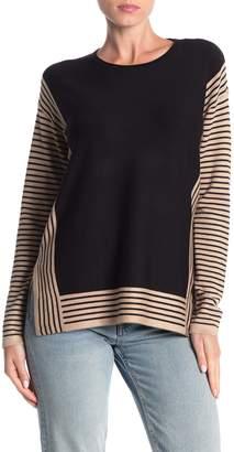 Cyrus Striped Dolman Sleeve Sweater