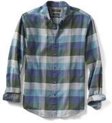 Banana Republic Camden-Fit Luxe Flannel Buffalo Check Shirt