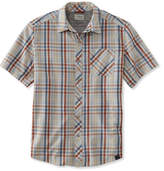 L.L. Bean Swift River Performance Shirt, Short-Sleeve Plaid
