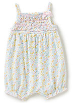 Starting Out Baby Girls Newborn-9 Months Floral-Print Ruffled Romper