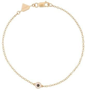 Alison Lou 14kt yellow gold Pepper diamond bracelet