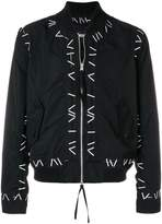 Kokon To Zai Pin embroidered bomber jacket
