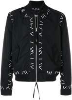 Kokon To Zai Pin embroidered bomber jacket