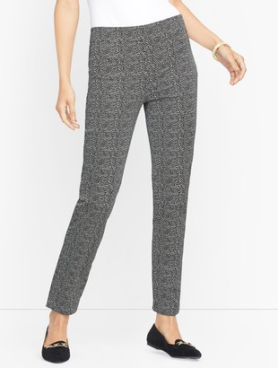 Talbots Chatham Ankle Pants - Falling Lines