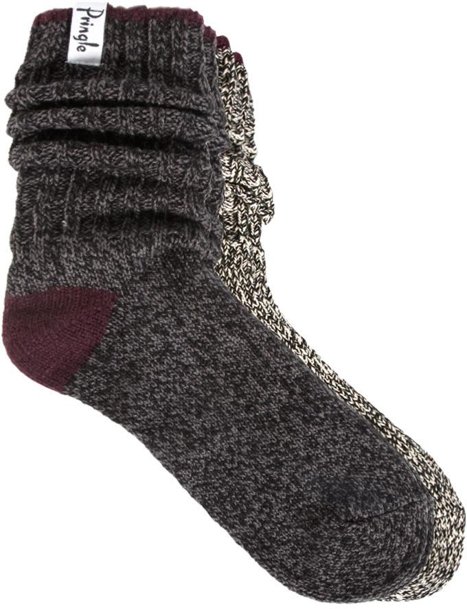 Pringle 2 Pack Boot Socks