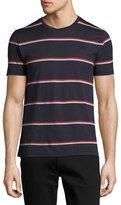 Burberry Barchston Striped T-Shirt, Navy