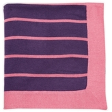 Portolano Cashmere Contrast Stripe Throw