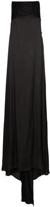 Ann Demeulemeester long semi-sheer gown