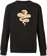 MHI snake sweatshirt - men - Cotton - S