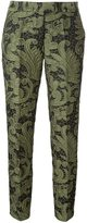 Christian Pellizzari jacquard trousers