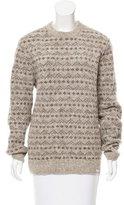 Norse Projects Pattern Knit Wool Sweater
