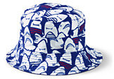 Lands' End Boys Reversible Sun Hat-White