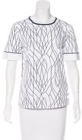 Maiyet Printed Short Sleeve Top