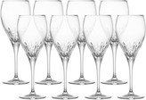 Mikasa Capella Set of 8 Crystal Goblets