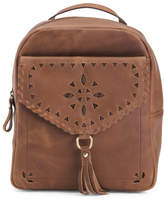 Distressed Leather Backpack - ShopStyle
