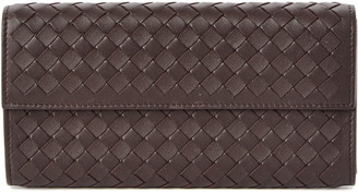Bottega Veneta Bottega Venetta Intrecciato Leather Continental Wallet