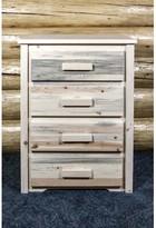 Abella 4 Drawer Standard Dresser Loon Peak Color: Ready to Finish