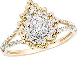 Diana M Fine Jewelry 14K 0.51 Ct. Tw. Diamond Ring