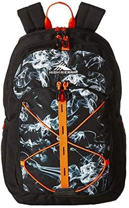 High Sierra Daio Backpack (Black Vapor/Black/Electric Orange) Backpack Bags
