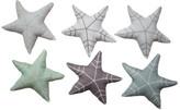 Fabelab Set of 6 Fabric Star Ornaments