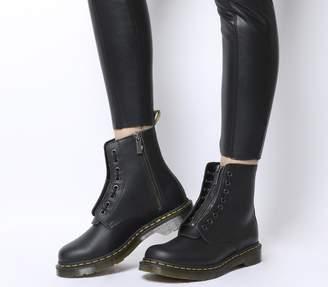 Dr. Martens 1460 Pascal Front Zip Boots Black