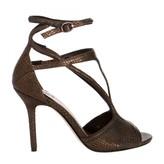 Max Studio Sear2 Metallic Leather Sandals
