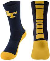 Women's Mojo Georgia Tech Yellow Jackets Champ 1/2-Cushion Performance Crew Socks
