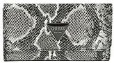 GUESS Women's Abree Python-Embossed Wallet