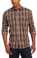 Wrangler Men's Retro Decorative Stitching Contrast Trim Shirt