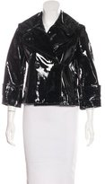 Robert Rodriguez Patent Leather Jacket