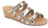 VANELi Women's Karen Triple Strap Wedge Sandal
