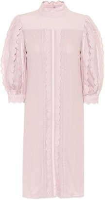 See by Chloe Cotton-lace dress