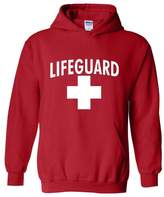 Xekia Lifeguard in White Fashion People Couples Gifts Best Friend Gifts Unisex Hoodie Sweatshirt