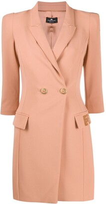 Elisabetta Franchi Double-Breasted Tailored Dress