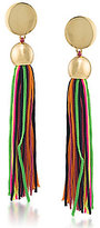 Trina Turk Mojito Nights Tasseled Linear Drop Earrings