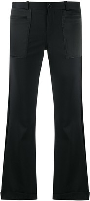 Each X Other Cropped Kick Flare Trousers