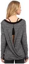 Hard Tail Switch Back Sweater T-Back Women's Sweater