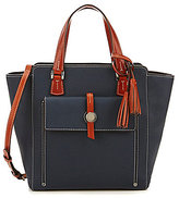 Dooney & Bourke Cambridge Collection Tasseled North/South Shopper