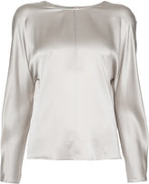Vince round neck blouse - women - Silk - L