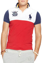 Polo Ralph Lauren Big and Tall Custom Fit ColorBlocked Polo Shirt
