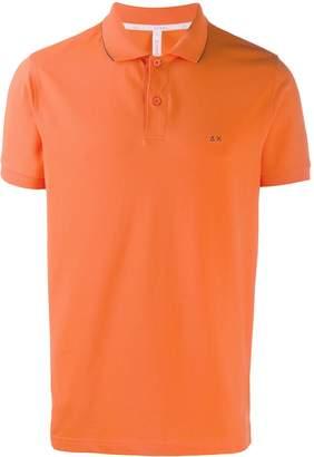 Sun 68 small stripes polo shirt