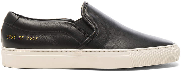 Common Projects Leather Slip on Retro