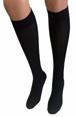 Gipsy Luxury Opaque 40 Denier Knee High Socks One Size (Camel)
