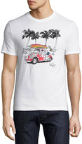 Original Penguin Surf-Graphic Jersey T-Shirt, White