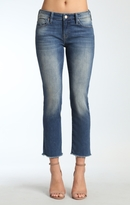 Mavi Jeans Kerry Ankle Straight Leg In Shaded Ripped Vintage