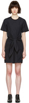 3.1 Phillip Lim Navy Front Knot Dress